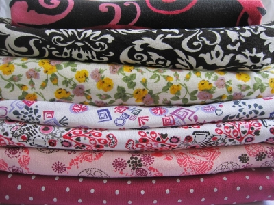 Printed knitting fabric